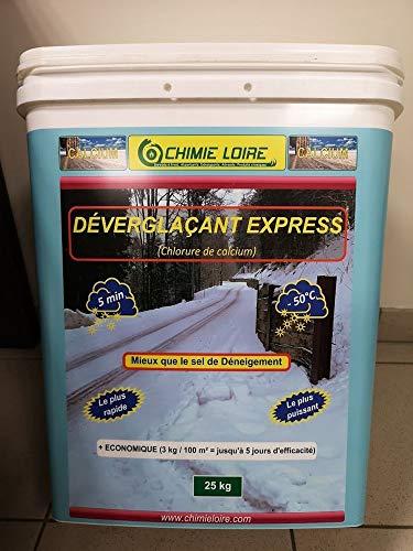 FRANCE VOIRIE Déverglaçant Calcium Seau de 25 kg (40)