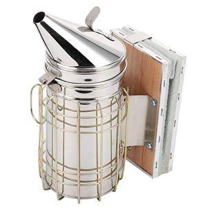 Fumeur de ruche, Kit de démarrage pour l'apiculture résistant à la corrosion, facile pratique pour éviter les piqûres d'eekeeper La ferme apicole calme les abeilles