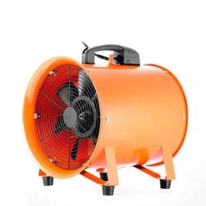Futchoy Ventilateur industriel de 30,5 cm en métal pour atelier