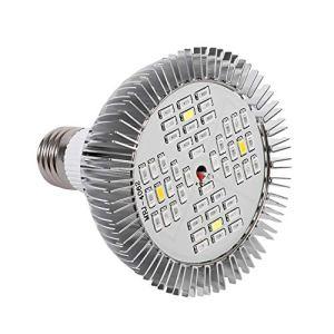 GOTOTOP LED élèvent l'ampoule 48W, Ampoule de Lampe de Plante LED à Spectre Complet E27 élèvent des lumières pour Les Plantes d'intérieur Fleurs de Jardin Serre hydroponique