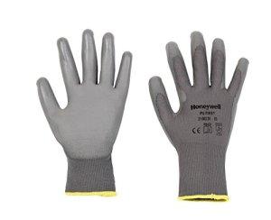 Honeywell 2100250-09 Gants de Manutention Générale PU 1st Grey, Manipulation Fine en Milieu Sec, EN 388 4131 – Taille 9 (Pack de 10 paires)