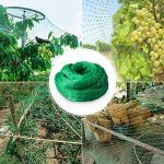 Hongyans Filet Anti Oiseaux 11m x 3m Filet Jardin Protection pour Potager Arbres Fruitiers Bassin de Jardin Plante Fleurs avec 10 Piquets de Jardin en Forme de U et 100 Attaches de Câble