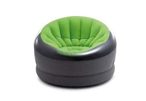 INTEX Fauteuil gonflable Jazzy vert