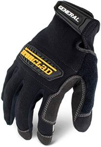 Ironclad GUG-05-XL Gants utilitaires Noir Taille XL