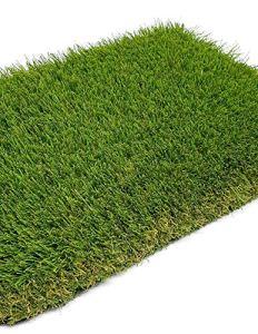Jardin202 2 x 20 mètres = 40 m2 – Gazon artificiel Istanbul Deluxe 40 mm – Rouleaux