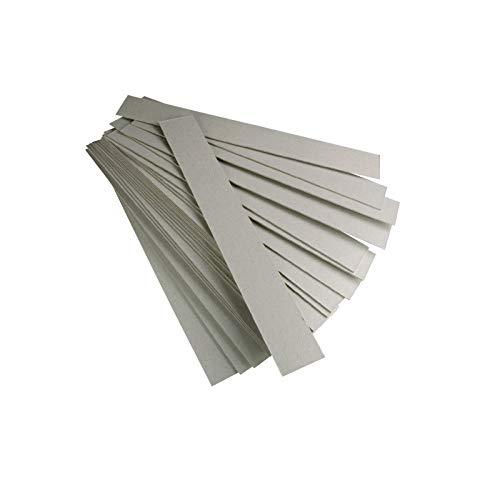 Jembal- Lot 500 bandelettes lanières Carton Gris Format 220×35 m/m Contre Le varroa varoa Apiculture Bande Carton