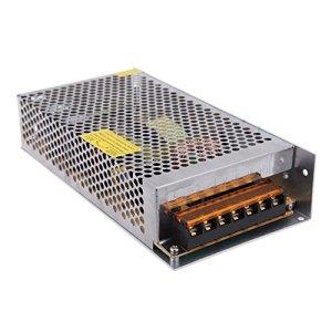 JOYLIT DC 12V 16.7A Alimentation à découpage Transformateur de tension 200W convertisseur de d'alimentation pour CCTV Radio Projet Informatique lumières LED
