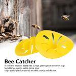 KJLH Lot de 20 mini pièges à abeilles réutilisables en forme de fleur pour abeilles, guêpes, insectes et insectes
