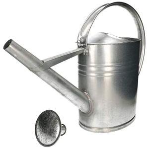 KOTARBAU® Arrosoir en zinc ovale 12 L pour arroser les fleurs avec douchette