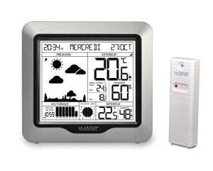 La Crosse Technology WS6823-SIL Station météo, Argent