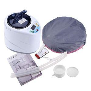 Ladieshow 2L Sauna Steamer Portable Pot Machine Home Personal Spa Indoor Body Amincissant Thérapie(Royaume-Uni 110V)