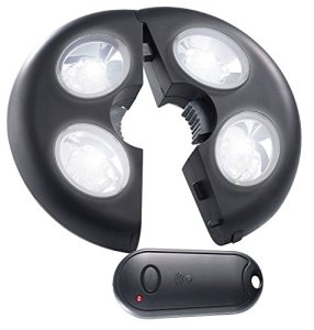 Lampe pour parasol télécommandée [Lunartec]