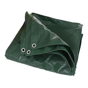 Lzcaure Voile d'ombrage carrée en PVC imperméable – 2 m – Très résistante – Pour auvents extérieurs – Extension de pare-soleil