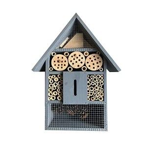 Maison à insectes en bois naturel pour tous les animaux