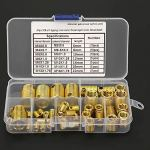 Manchon de Réparation de Filetage – 50Pcs Kit de Jeu D'inserts de Réparation de Manchon de vis Haute Résistance (307)