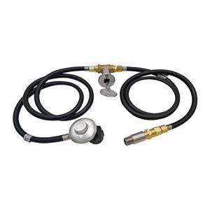MING-BIN Pièce de régulateur de Propane Régulateur de Propane et Tuyau de Commande Système de contrôle des systèmes de Remplacement avec la buse de la vanne de mélangeur d'air pour la Fosse à gaz