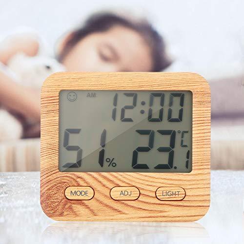 Omabeta Humidimètre Multifonctionnel Non Toxique résistant à l'usure numérique Stable à la température pour Une Utilisation à l'intérieur à la Maison Pendant Le Spectacle