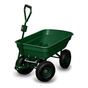 OSE Chariot de Jardin/bûches 4 Roues – 120 kg