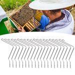 Pince à Ressort de Ruche, renforcez Les Attaches de Ressort de Ruche faciles à connecter Attache de Ruche pour Les fermes apicoles pour Les Outils de Ruche en Bois