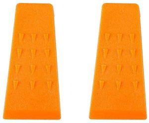 Poweka Lot de 2 cales en plastique ABS pour tronçonneuse 13,97 cm
