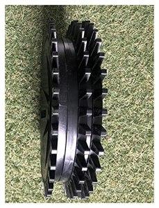 QUJJP Pièces de Tondeuse à Gazon Robot Lawn Wheels-1PC Roue arrière Compatible avec la Tondeuse à Gazon de ravivation E1600T, E1600, E1800T, E1800, E1800S Accessoires (Color : Plastic Type)