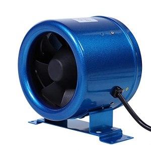 Release Ventilateur d'extraction de contrôle de Vitesse réglable de 8 Pouces 220V pour Ventilateur de Ventilation de Jardin Stimulant Le Flux d'air