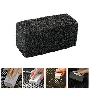 Tenwan Briques de nettoyage pour gril – Pour cuisine, barcecue – Pour nettoyer les coudes, les graisses, les briques, les barbecues (20 x 10 x 9 cm)