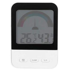 Thermohygromètre de Haute précision thermomètre électronique numérique hygromètre hygromètre LCD avec Affichage rétroéclairé LCD pour Serre intérieure