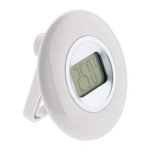Thermomètre intérieur à écran LCD – Blanc – Otio