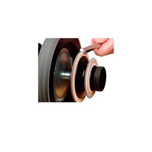 Tormek – Disque de démorfilage profilé spécial gouges R.2 et 45° – Tormek – LA-124