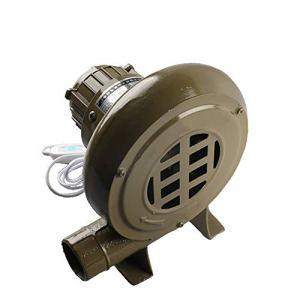 Ventilateur De Barbecue Électrique, Ventilateur De Barbecue Électrique Au Charbon De Bois Forgé 220V Avec Interrupteur D'alimentation,250W