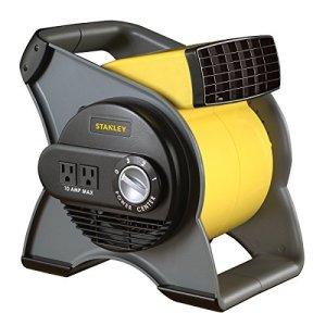 Ventilateur de soufflage à haute vitesse Stanley 655704 – souffleur pivotant et sorties intégrées
