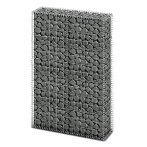vidaXL Panier de Gabion avec Couvercle Fil Galvanisé 150x100x30 cm Clôture
