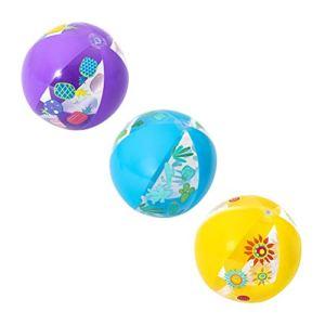 VOUNEDA Petites balles Plage,Jouets gonflables,Balle Plage Gonflable, Jouets gonflables Arc-en-Ciel, Ballon Gonflable Ballon Ball hévaillement de Plage Ballon de Piscine fêtes