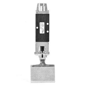 YUQIYU Interrupteur au pied Valve, G1 / 4 2 Position 5 Way Air pneumatique Momentary Pédale métal commutateur de commande de pression industrielle en alliage d'aluminium Pédale Valve 0.8Mpa