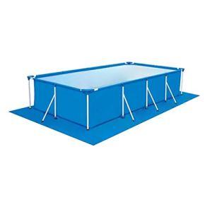 338 239cm Piscine Mat Coussin de piscine Tapis de protection de piscine Tapis de piscine Rectangulaire Pour la Piscine Hors Sol