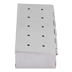 Accessoires de grillage, accessoire de barbecue Boîte de fumage portable pour pique-niques pour cuisines pour barbecue Grill Copeaux de bois pour barbecue parties pour le camping