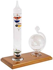 AcuRite 00795A2Galileo Thermomètre avec Globe de Verre Baromètre