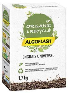 ALGOFLASH Organic & Recyclé Engrais Granulés Universel 1,7 kg UAB*, AUNIRECY17