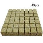 Beifeng Cubes multifonctions en laine de roche – Blocs de culture sans terre – Mini compresse de base agricole hydroponique