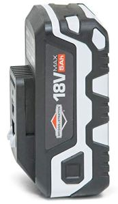 Briggs & Stratton 18V Lithium-Ion 5.0Ah Battery for Murray 18V, 3 Year Warranty