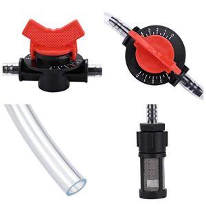 Changor Injecteur d'engrais de l'irrigation, avec Filetage de Sortie de Plastique Siphon Principe injecteur d'engrais Venturi
