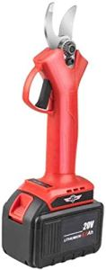 Ciseaux électriques sans fil Ciseaux de ciseaux rechargeables sans fil Outils électriques Grafting Ciseaux Ciseaux Petits Ciseaux à main 200 Jialele