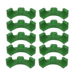 Clips de contrôle de croissance d'usine de formateur de plante d'entraînement à faible stress de cintreuse à 90 degrés,Clips de support de formation de plantes pour la croissance de soutien Green