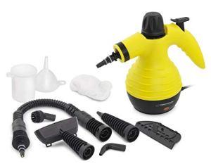 CNCPRINT 9 en 1 | Nettoyeur vapeur multi-usages | Nettoyeur à vapeur à main pour éliminer les taches, les tapis, les commandes de punaises de lit, les sièges de voiture