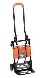CoscoProducts 12222BGO1E Cosco Shifter Chariot de manutention pliable multi-positions Orange
