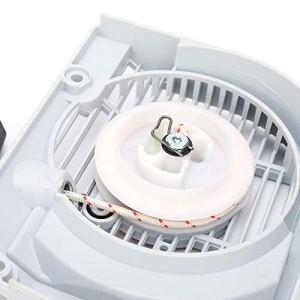 Démarreur à tirette pour tondeuse, mécanisme de poulie de démarrage pratique pour un usage général pour débroussailleuse à usage professionnel pour démarreur à traction