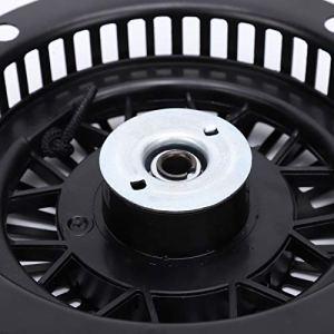 Démarreur de traction de tondeuse, démarreur de traction de tondeuse à gazon solide dureté élevée exquise pour remplacer les pièces de générateur à usage général pour un usage professionnel