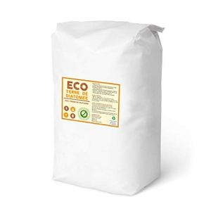 ECO Terre de Diatomeé 25kg | Formats 1 à 25 kg | Non Calcinée | Alimentaire E551c | 100% Naturel et écologique | Naturel Contre Les Insectes | La Meilleure qualité au Meilleur Prix !!!! (25)