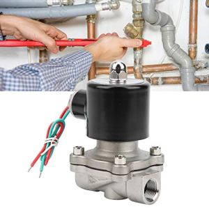 Électrovanne d'eau, électrovanne d'eau, électrovanne électrovanne 2 ports pour air d'eau(DC12V, Pisa Leaning Tower Type)